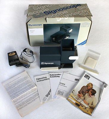 VGUC SAFE Signoscope T1 9886 Optical Electric Watermark Detector Adapter w/ Box