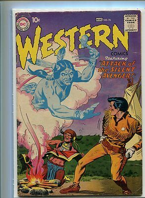 Western Comics #76 Solid Grade Dramatic Cover Gem