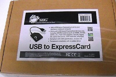 SIIG  USB to ExpressCard #JU-EP0012-S1 *NEW*
