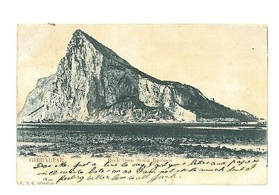 B82459 Gibraltar Rock from Santa Barbara 1900 front back image