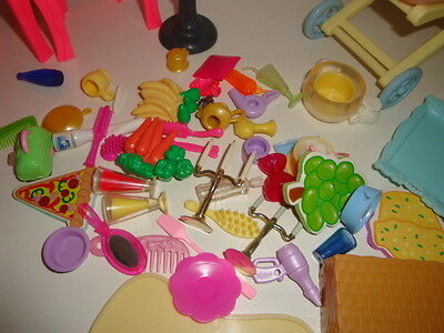 Bundle Of Barbie Doll Furniture And Accesories