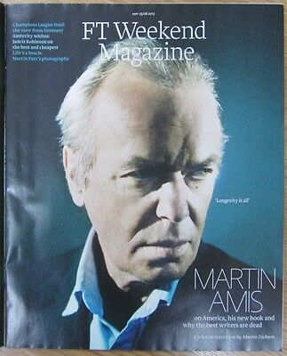 Martin Amis – FT Weekend Magazine – 25 May 2013