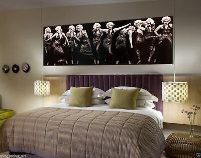 20''x56'' Home Decor HD Print Oil Painting on Canvas Marilyn Monroe Unframed