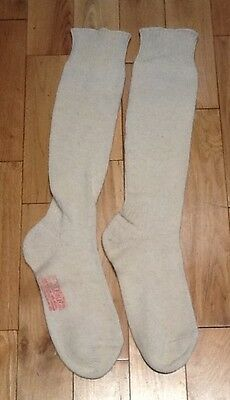 Vintage Cafe Racer Ton Up Rocker Style Wool Boot Socks from Ace Cafe