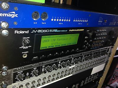 Roland JV-2080 - 64 Voice Synthesizer Module - Excellent Synth