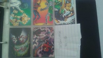 Large Lot of Spiderman Trading Cards (Various Companies and Years)