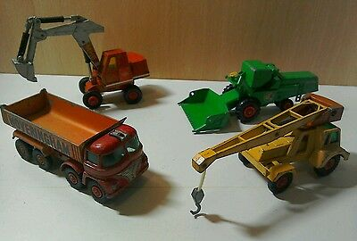 lesney, Matchbox, toy vehicles, diecast, Hoveringham, Jumbo Crane, and more