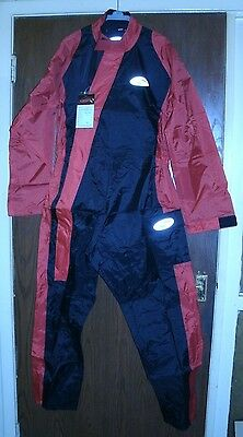 MOTORCYCLE WATERPROOFS - ALL IN ONE - SIZE M - made by Lewis