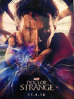 PROOF Benedict Cumberbatch SIGNED Autograph COA A4 Photo Dr Strange RARE