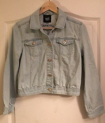 New Look Girls Light Denim Jacket Age 14-15 Years