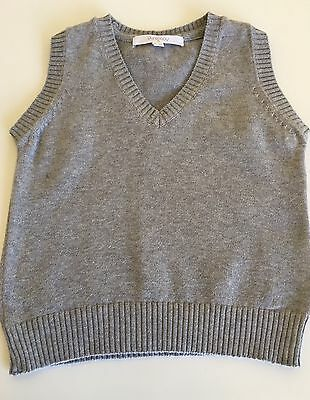 Purebaby Boys Knitted Vest 6-12 Months 100% Organic Cotton