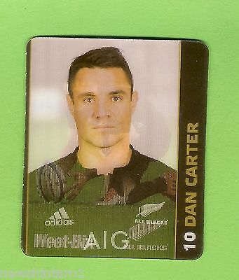 #cc5.  Dan  Carter  Weetbix  New  Zealand Junior Rugby Union Camp  Hologram