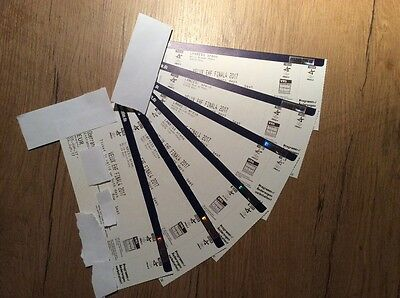 EHF VELUX Handball Champions League FINAL 4 Four 2017 Ticket 8x Tickets Karten