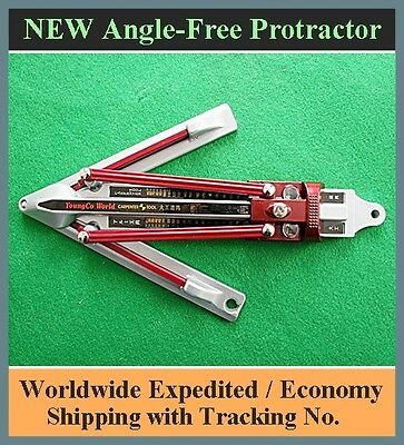 NEW ALUMINIUM Angle Bevel Protractor Gauge Finder Molding Carpentry Woodwork
