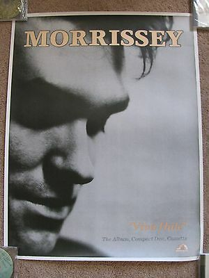 Morrissey Viva Hate, UK Poster Mint- Condition, The Smiths, Promo?