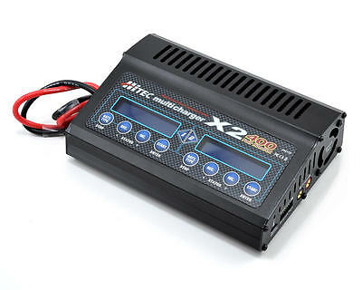 Hitec X2-400, 2 Channel DC Multi-Charger (6S/20A/400W x 2)