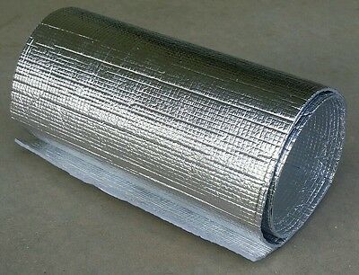 "Reflective Insulation Heat Shield, Double Sided, Thermal Barrier 14"" by 52"""