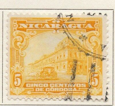 Nicaragua 1929 Early Issue Fine Used 5c. 111079