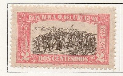 Uruguay 1925 Early Issue Fine Mint Hinged 2c. 111098