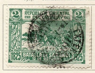 Uruguay 1925 Early Issue Fine Used 2c. 111103
