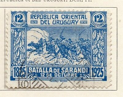 Uruguay 1925 Early Issue Fine Used 12c. 111104