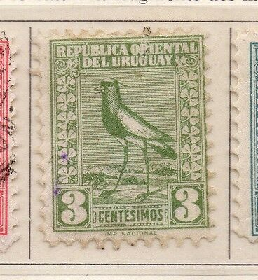 Uruguay 1927 Early Issue Fine Used 3c. 111115