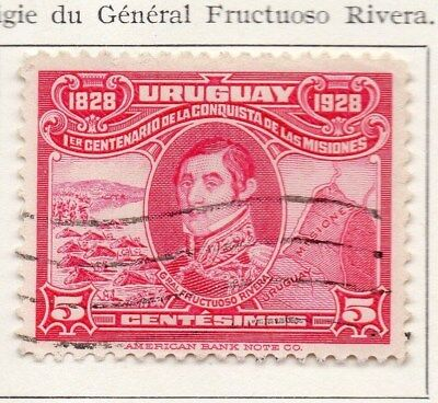 Uruguay 1928 Early Issue Fine Used 5c. 111123