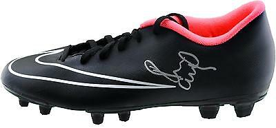 Paul Scholes Manchester United Autographed Nike Black Cleat ICONS