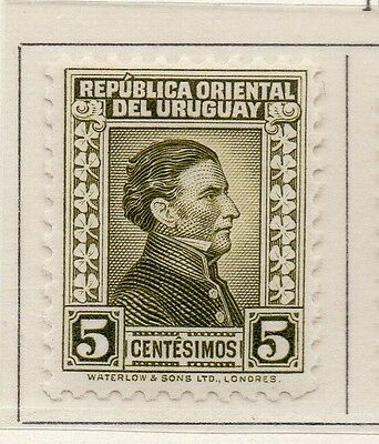 Uruguay 1933 Early Issue Fine Mint Hinged 5c. 111156