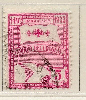 Uruguay 1933 Early Issue Fine Used 5c. 111164