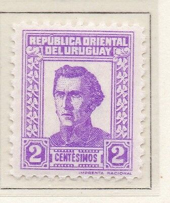 Uruguay 1939-40 Early Issue Fine Mint Hinged 2c. 111201