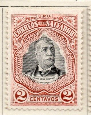 El Salvador 1906 Early Issue Fine Mint Hinged 2c. 111254