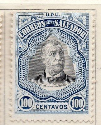 El Salvador 1906 Early Issue Fine Mint Hinged 100c. 111264