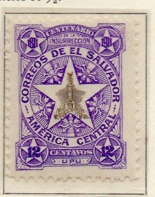 El Salvador 1911 Early Issue Fine Mint Hinged 12c. 111300