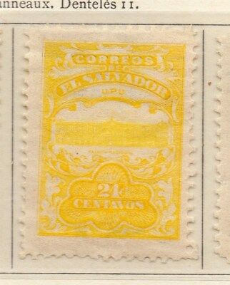 El Salvador 1911 Early Issue Fine Mint Hinged 24c. 111304