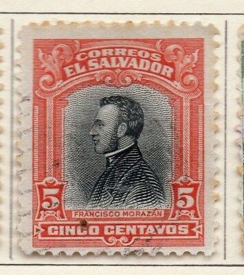 El Salvador 1912 Early Issue Fine Used 5c. 111308