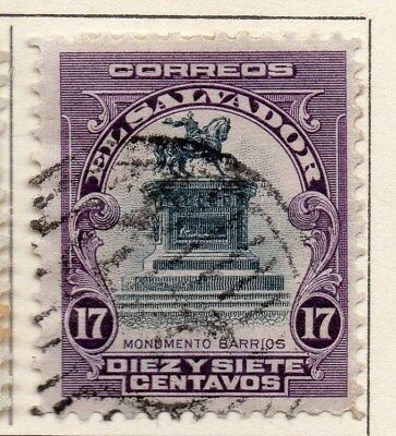 El Salvador 1912 Early Issue Fine Used 17c. 111311