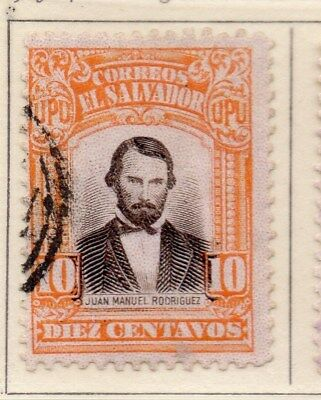 El Salvador 1913-14 Early Issue Fine Used 10c. 111316
