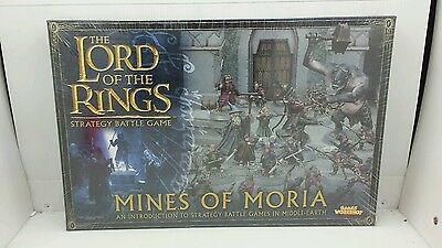 GW Lord of the Rings Mines of Moria  Starter Set Sealed NIB OUT OF PRINT RARE
