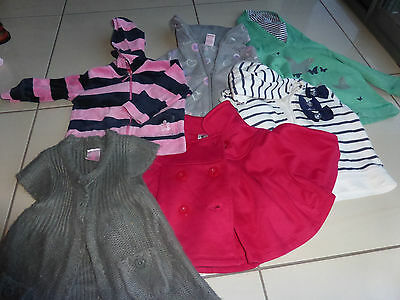 girls size 1 jumpers (6 jumpers) & 4 long sleeve tops