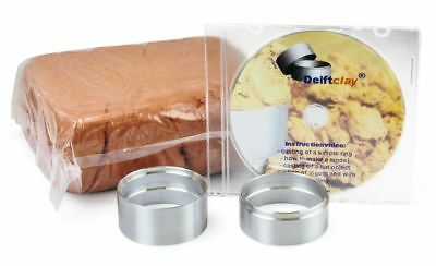 Delft Clay Casting Sand Kit Gold Silver Copper-Based Alloy Pewter Aluminum