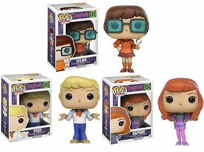 Funko POP! Velma #151 + Daphne #152 + Fred #153 Scooby-Doo Pack NEW