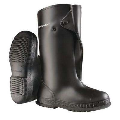 ONGUARD 86030MD33 Overboots, Mens, M, Button, Blk, PVC, 1PR