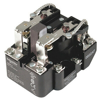 SCHNEIDER ELECTRIC 9AS5A52-120 Enclosed Power Relay,5 Pin,120VAC,SPDT