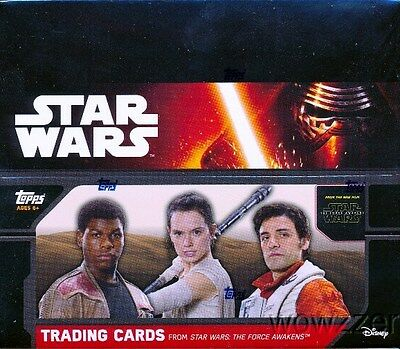 2015 Topps Star Wars the Force Awakens SPECIAL HOBBY EDITION Sealed 16 Box CASE