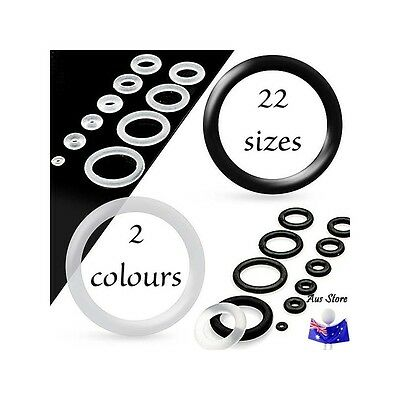 New PAIR Silicone O-Ring . AUS STORE.