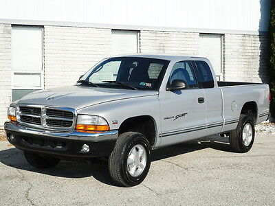 1998 Dodge Dakota SPORT 4X4 4WD Club Cab PICKUP TRUCK! 58K MILES!  NO RESERVE V6 MAGNUM EXTENDED CAB KEYLESS ENTRY CRUISE CONTROL EXTRA CLEAN