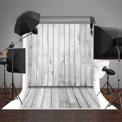 Background for Baby Photo Studio Wooden Floor Photography Backdrops Vinyl 5x7FT
