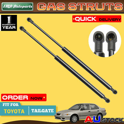 New Pair Tailgate Gas Strut for Toyota Corolla Station Wagon 2001-2007 ZZE120