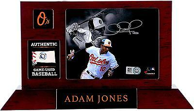 Autographed Adam Jones Orioles Desktop Display Item#5746648